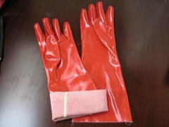 pvc guantlet glove