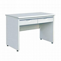 europe style used metal frame office desks with locking drawers