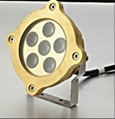 Professional   IP68 LED Brass Underwater