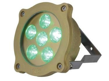 Professional   IP68 LED Brass Underwater Light 2