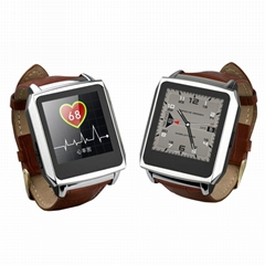 "PW502II multifunctional smart bluetooth watch 1.6"" TFT IP67 waterproof waches me"