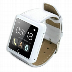 "1.54"" capative smartwatch android bluetooth 4.0 reloj inteligente fitness tracke"