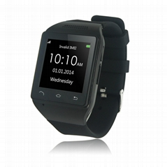 ndroid watch phone for android smartphones GSM cell phone watch support sim card