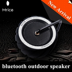 New mini bluetooth speaker tire shape design waterproof outdoor speaker portable