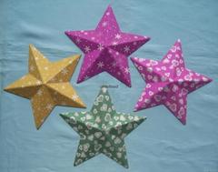 立體紙漿五角星