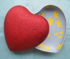 纸浆心形盒