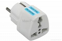 Universal Travel Adapter US AU UK to EU Plug Travel Wall AC Power Converter