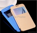 For Galaxy S6 Cases Luxury PU Leather