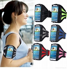For Galaxy S5 Universal Mesh Breathing Holes Running Sport GYM Arm Band Case