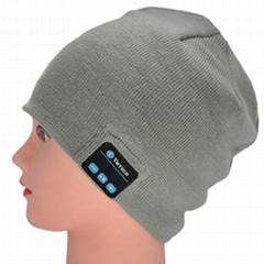 Bluetooth Beanie Headphone (Grey)