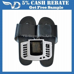 Hot Sale Digital Acupuncture  Tens with Sandals Massager