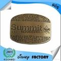 custom logo metal zinc alloy belt buckle