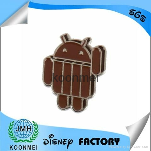Best selling Android badge ,android lapel pin 2