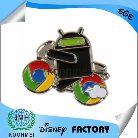 Best selling Android badge ,android lapel pin 4