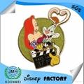 Custom metal Mickey badge Disney Pin