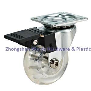 透明萬向腳輪 傢具輪 2