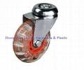 透明萬向腳輪 傢具輪 3
