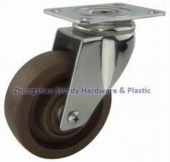 斯特迪304不鏽鋼耐高溫腳輪