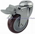 中型304不鏽鋼腳輪