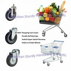 超市購物車輪