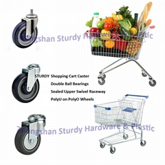 Shopping Cart Casters