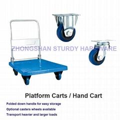 Sturdy Hardware Platform Carts / Platform Truck Hand Carts