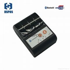 Mini 58mm thermal portable printer HS-591 usb bluetooth port printer