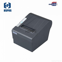 Cheap USB port integrated thermal printer 80mm support win 10 linux system