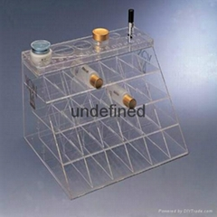 Clear Acrylic Display Cabinet  Plexiglass Display Box with Drawers