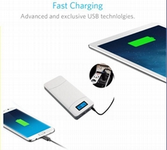 portable mobile laptop chargers power bank with 20000mah