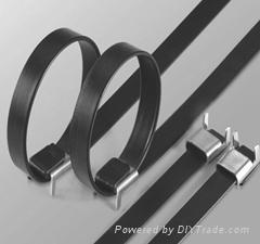 包塑噴塑電纜扎帶 2