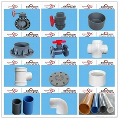 hight quality pvc pipe fittings made in china with good price