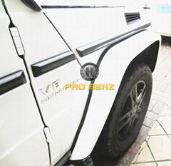 W463 碳纤车身饰条