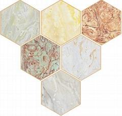 石立方背景墙玉石系列
