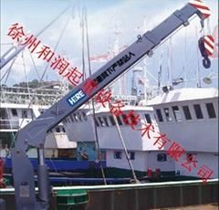 直臂式船用吊机CSQ8SB3