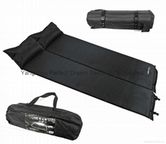 Double or Single Self Inflate Memory Foam Sleeping Mat Camping Mattress Air Bed