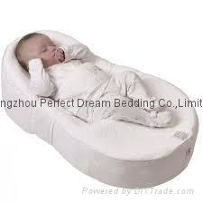 Cocoonababy with Fitted Sheet Fleur De Coton (White)