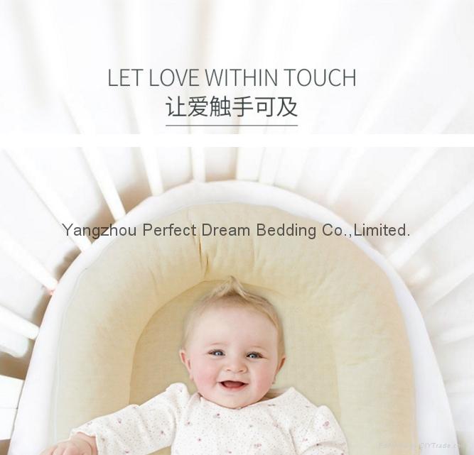 Baby Delight Sn   le Nest Traveler Extra-Long Portable Infant Sleeper 2