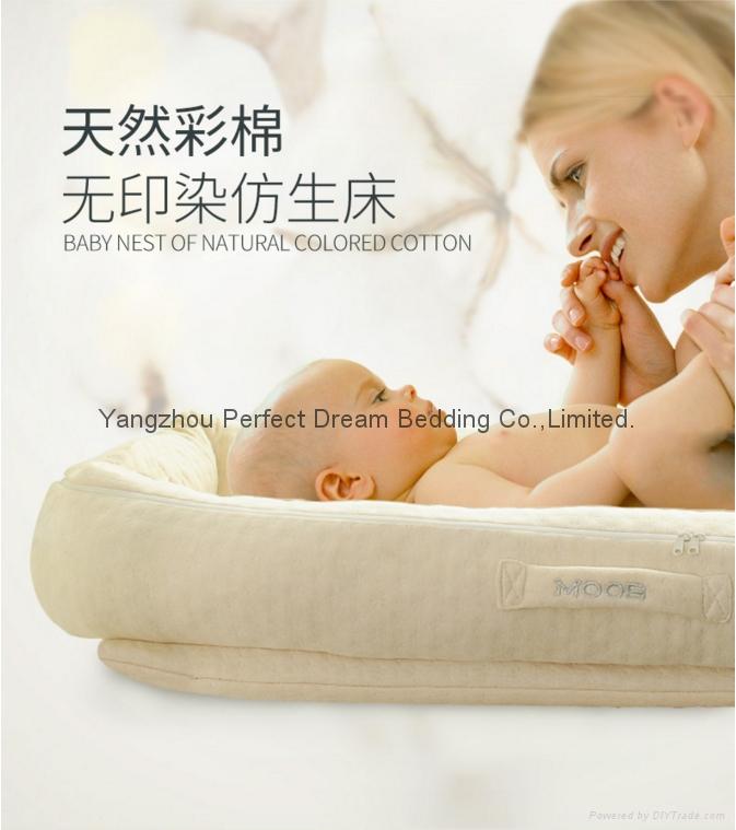 Baby Delight Sn   le Nest Traveler Extra-Long Portable Infant Sleeper 4
