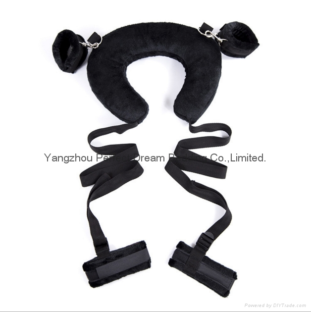 Sex Pillow With Ankle Cuffs Adult Game Sex Swing Chairs Open Leg Bondage Belt Fu 3