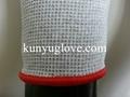 13 Guage carbon yarn knitting working glove 3