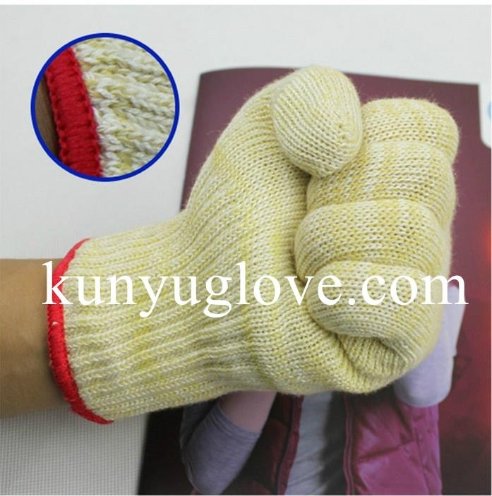 100% aramid heat resistant Oven Gloves household gloves 1