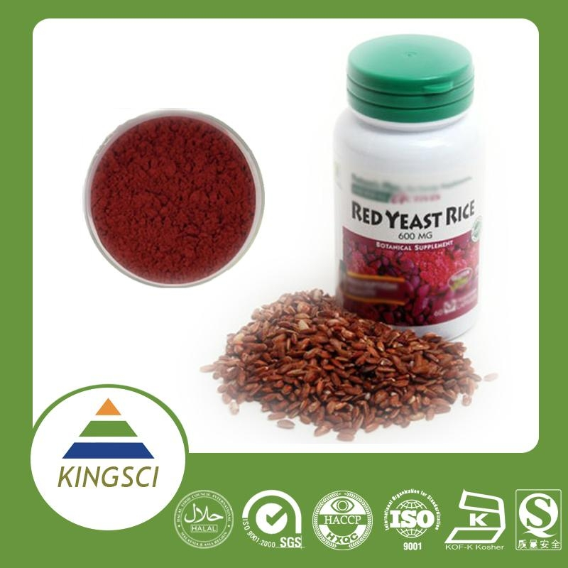 factory supply Red yeast rice extract Lovastatin/Monacolin K 4