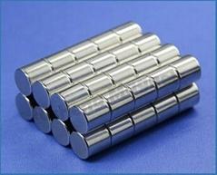 Ndfeb Magnetic Cylinder Magnets