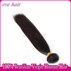 Brazilian Silky Straight Remy Hair Product 100% Virgin Human Hair Extension