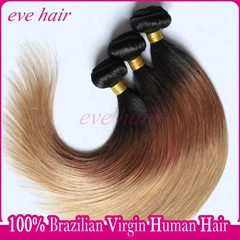 Hot Sale Straight T1B3327 Color 100% Virgin Human Hair Extension
