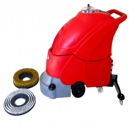 CABLE TYPE HARD FLOOR SCRUBBER & DRYER E 4501 2