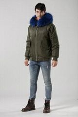 UK stylish bomber jacket in winter women/men coats