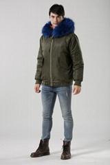 UK stylish bomber jacket in winter women/men coats