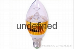 3w E14 bulb LED Candle with CE RoHS Approval light bulb